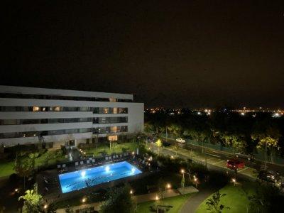 Apartament 3 camere zona Nord Bucurestii Noi cu vedere la piscina