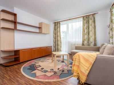 Otopeni - Apartament mobilat, cu terasa si curte proprie