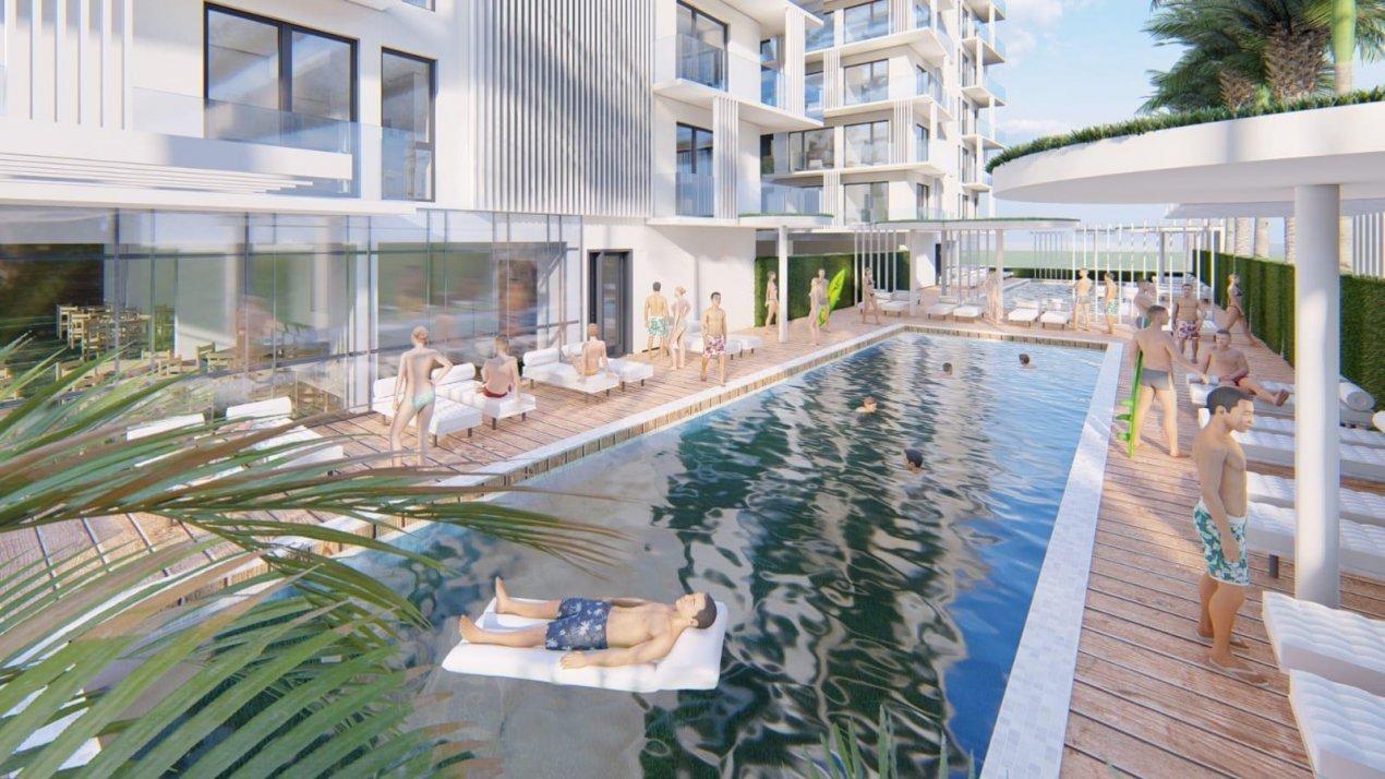 Queen's Residence By The Sea STUDIO cu bucataria inchisa -BLOCUL 2  Plaja Papaya 13