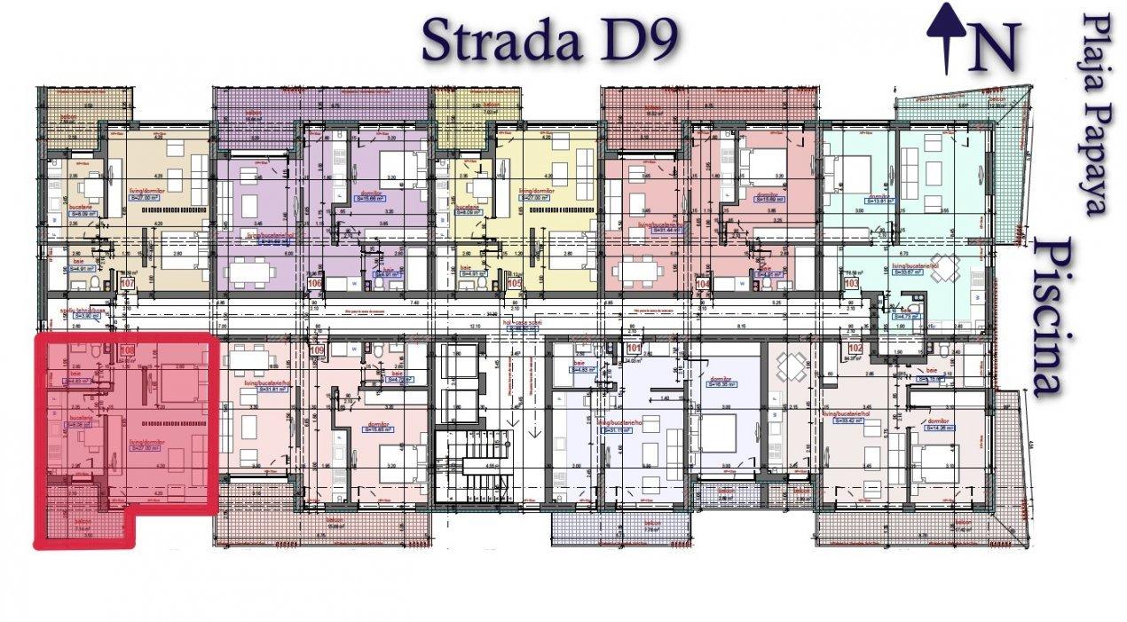 Direct dezvoltator - Queen's Residence By The Sea - STUDIO pe malul marii 8