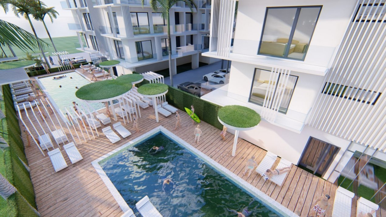 Direct dezvoltator - Queen's Residence By The Sea - STUDIO pe malul marii 19